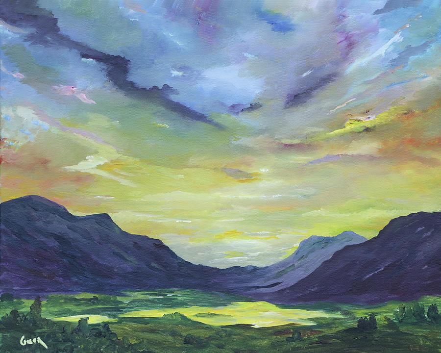 Ireland Painting - Ladies View  Killarney by Conor Murphy
