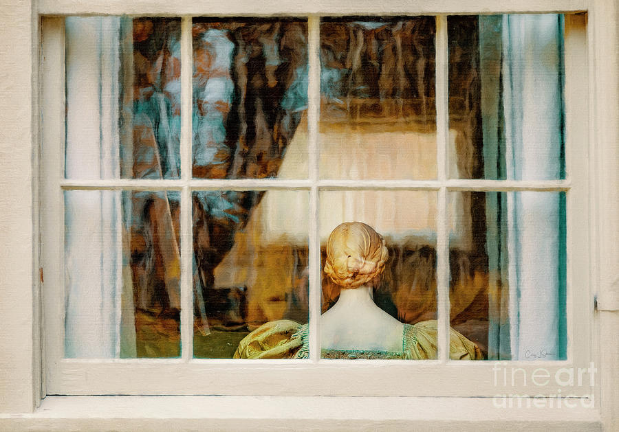 Lady in the Window by Craig J Satterlee