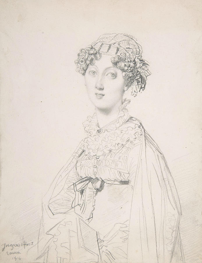 Lady Mary Cavendish-Bentinck by Jean-Auguste-Dominique Ingres