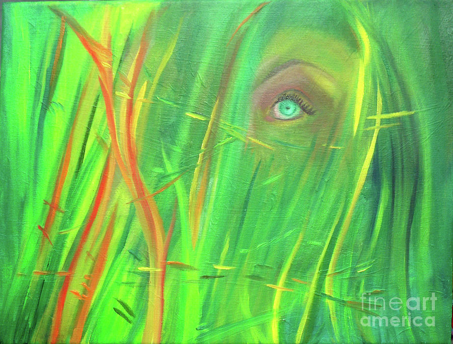 Underwater Painting - Lady Of The Sea by Julieanne Case