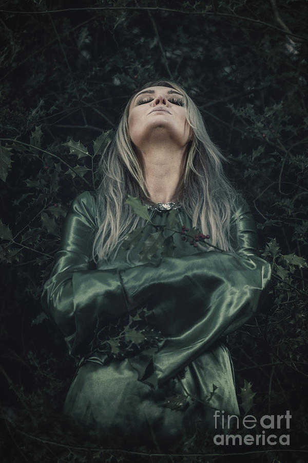 Lady Of The Woods Photograph