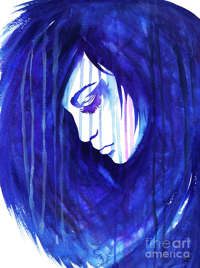 Lady Rain Painting