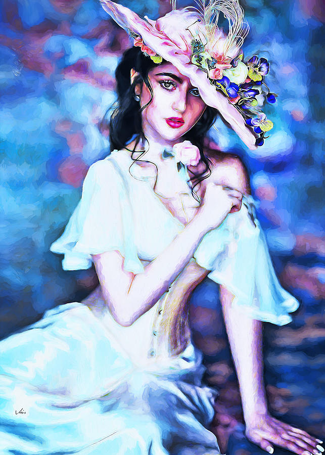 Lady Selina Portrait Painting