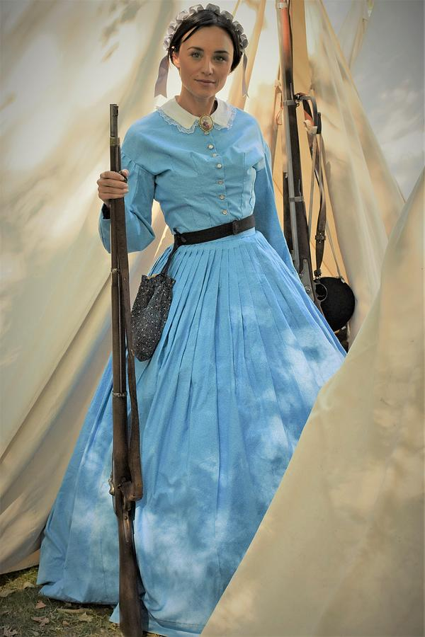 Lady With Rifle Photograph
