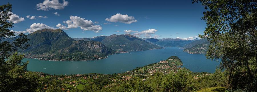Lake Como. Bellagio. Italy Photograph