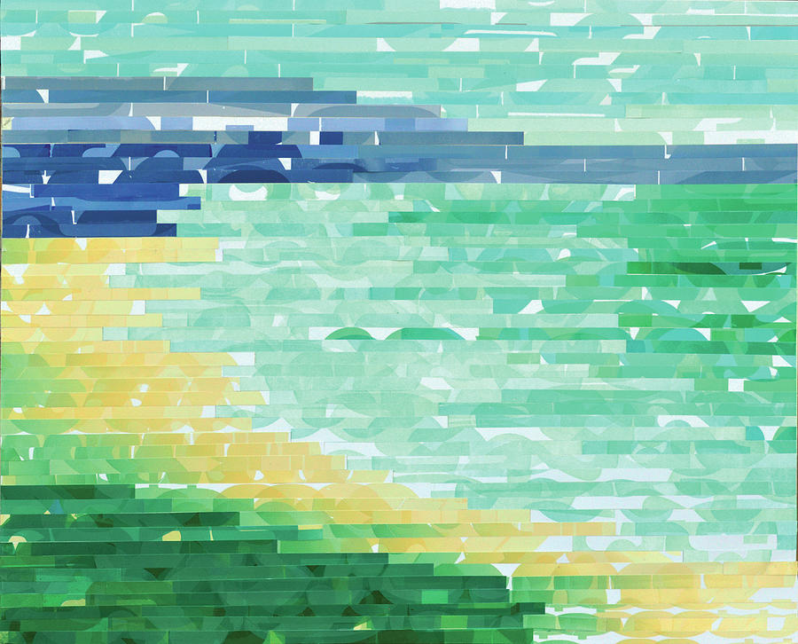 Laguna Beach Mixed Media - Laguna Beach Glance by Color Bliss