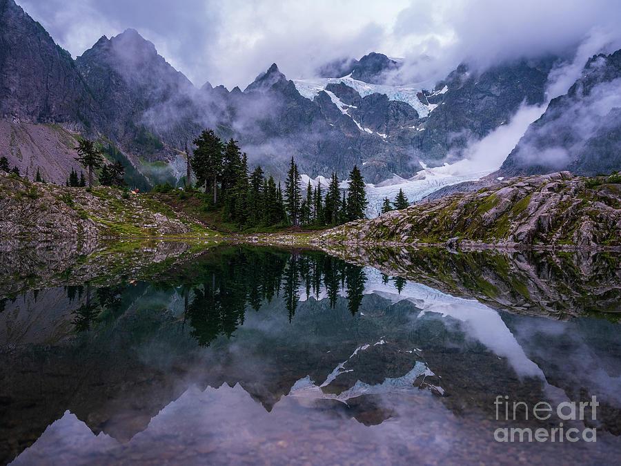 Lake Ann Shuksan Symmetry Photograph