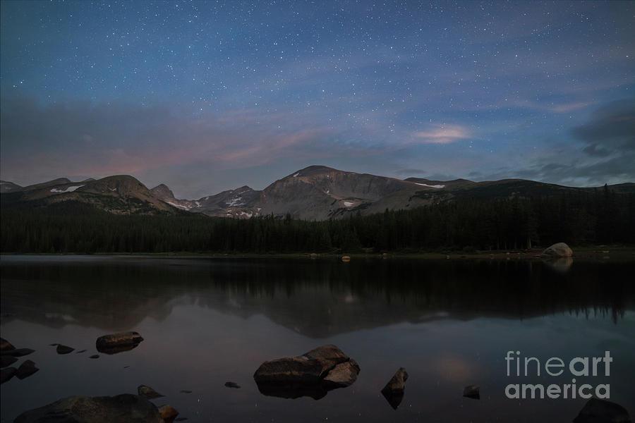 Lake Brainard at Twilight by Keith Kapple