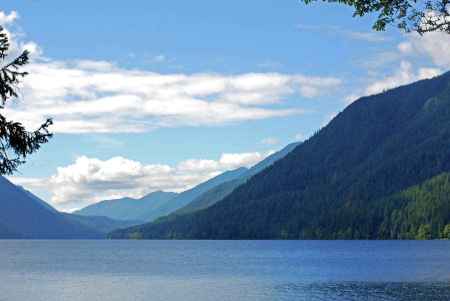 Lake Crescent. Olympic National Park Photograph