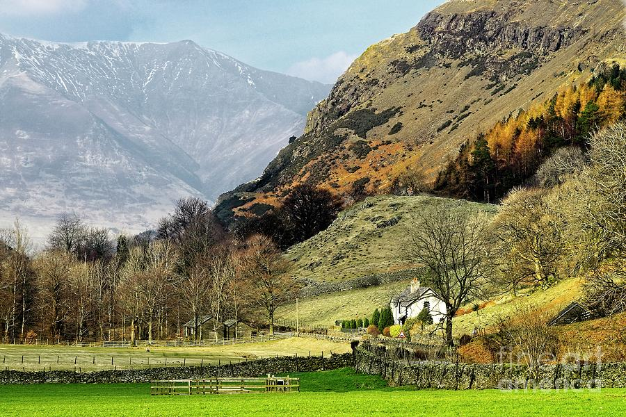 Lake District Mountain Landscape by Martyn Arnold
