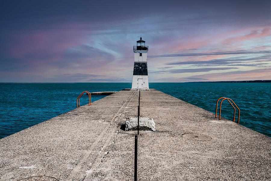 Lake Erie Lighthouse Photograph