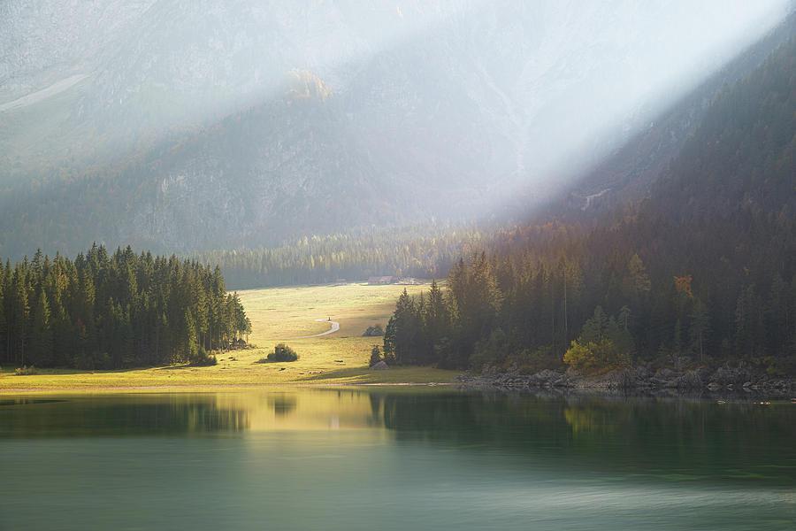 Lake Fusine superiore by Yuri San