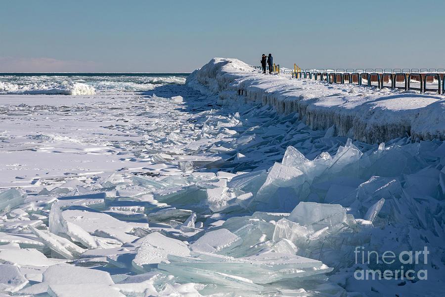 Lake Huron Ice Photograph