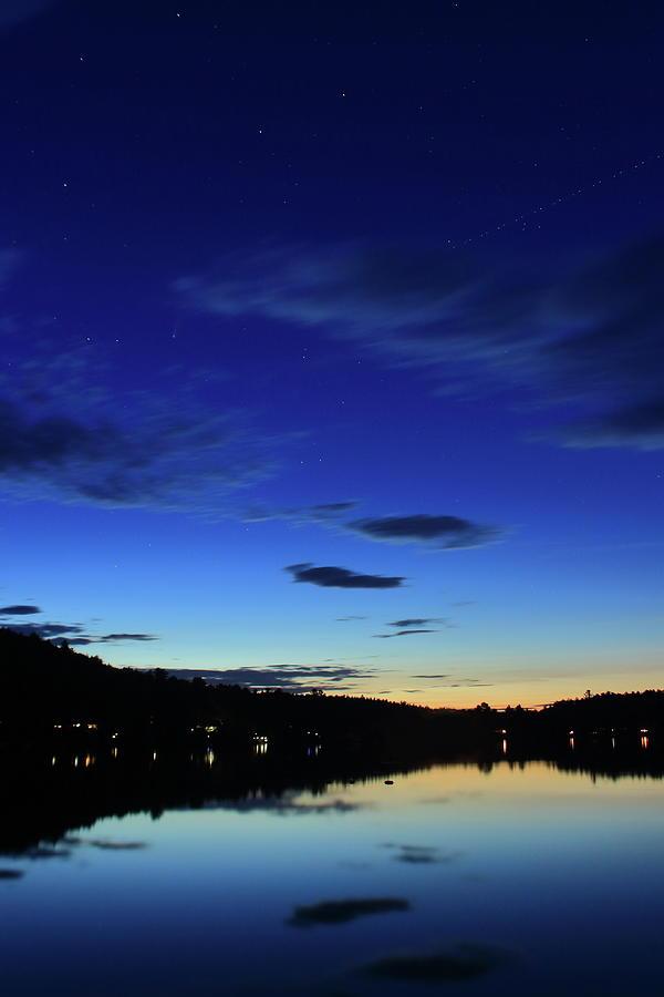Lake Mattawa At Dusk Photograph