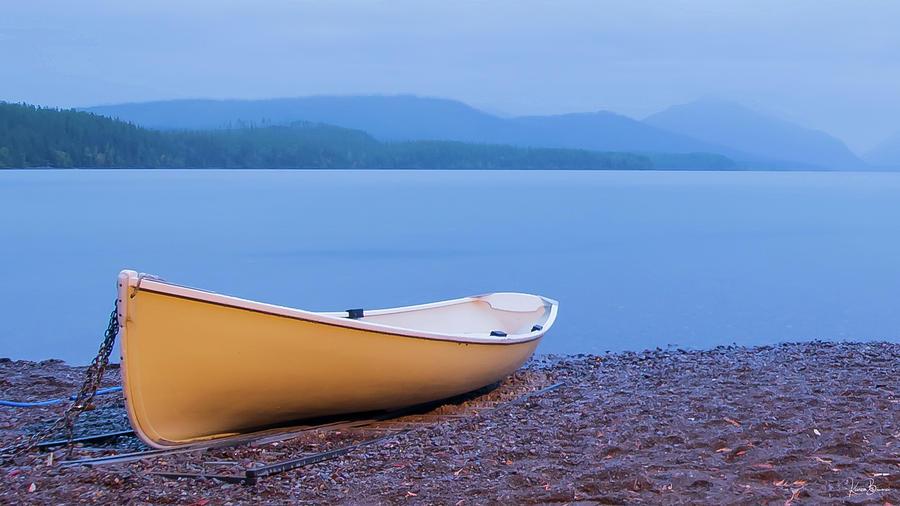 Lake McDonald Sunrise II Signed by Karen Biwersi