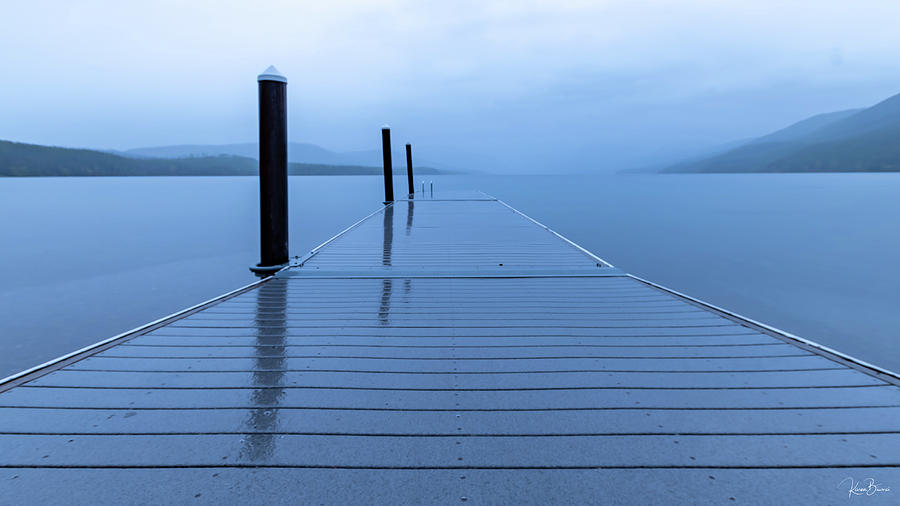 Lake McDonald Sunrise Signed by Karen Biwersi