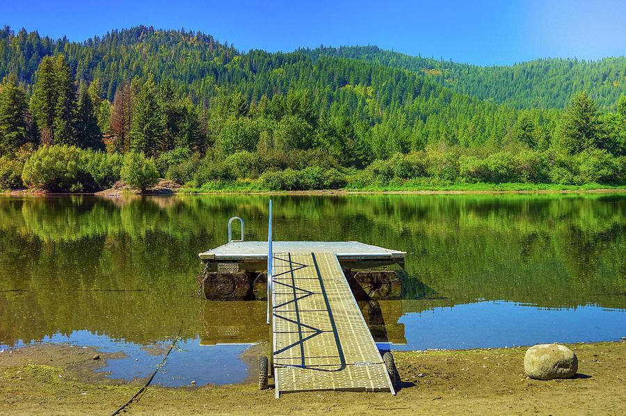 Lake Photograph - Lake of Spirits by Cindy Nunn