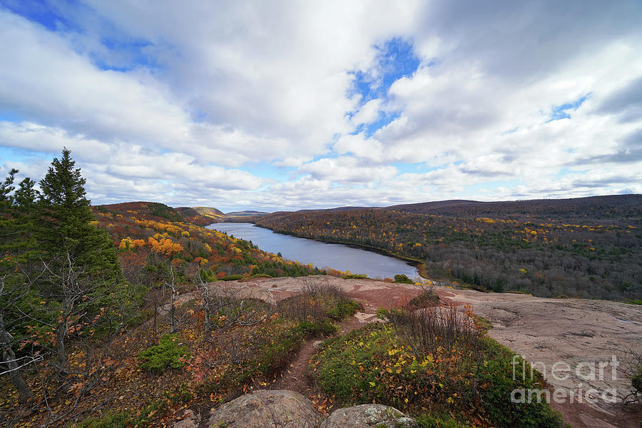 Lake Of The Clouds Late Autumn Photograph
