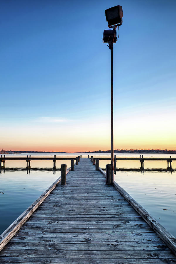 Lake Pier 012120 by Rospotte Photography
