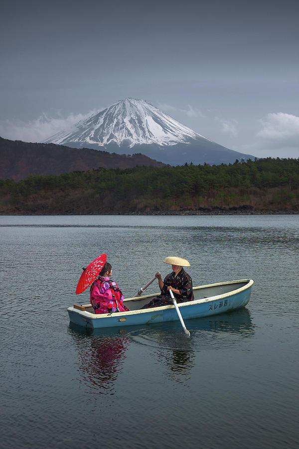 Lake Saiko by Francis Ansing