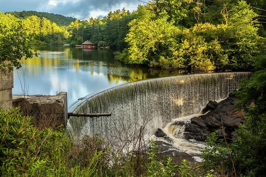 Lake Sequoyah Dam by Matthew Irvin