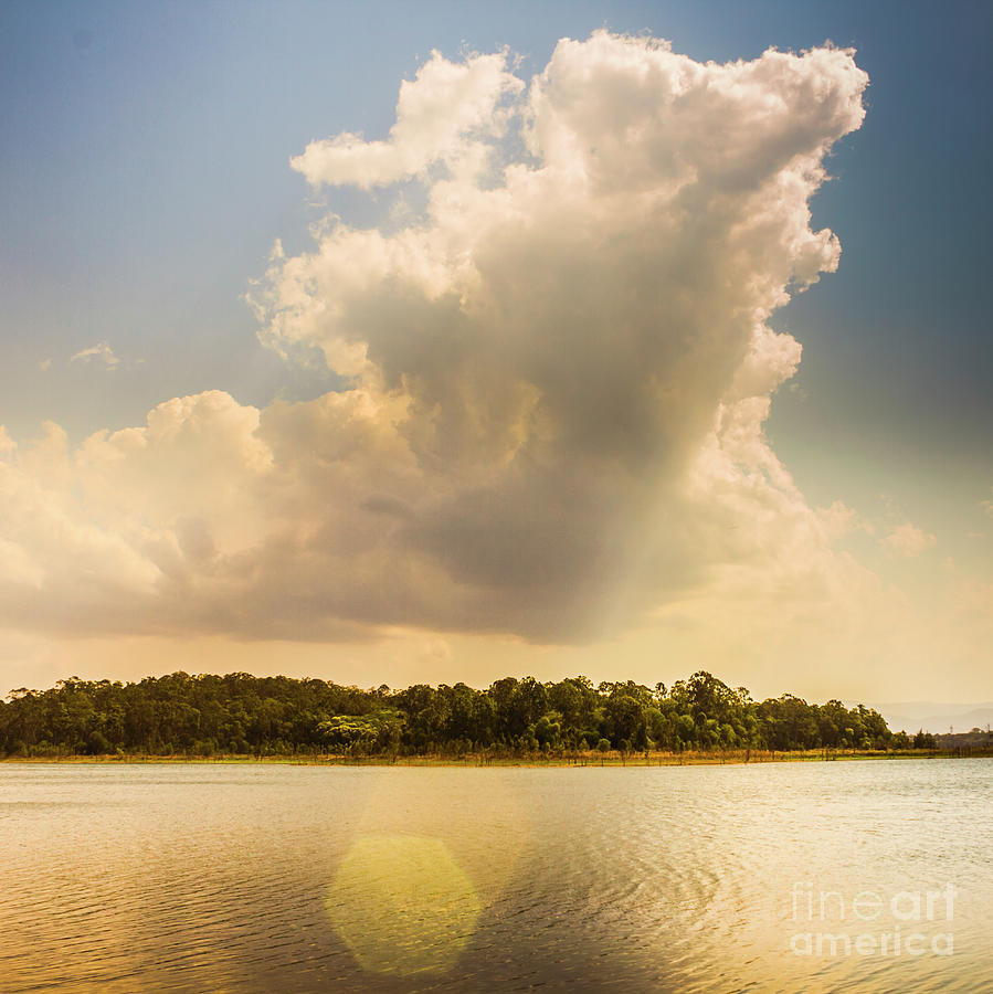 Photo Photograph - Lake Serenity by Jorgo Photography - Wall Art Gallery