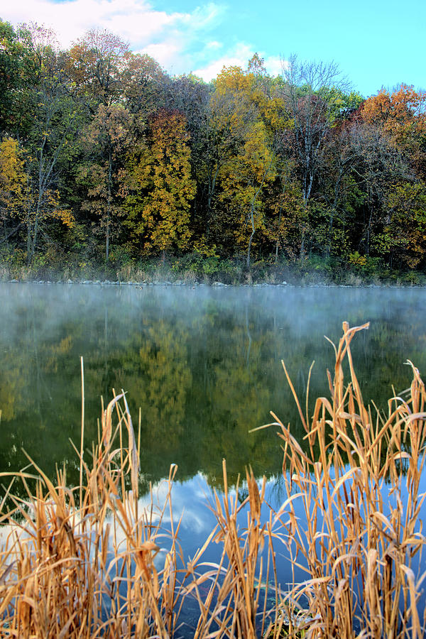 Lake Photograph - Lake Steam 2 by Bonfire Photography