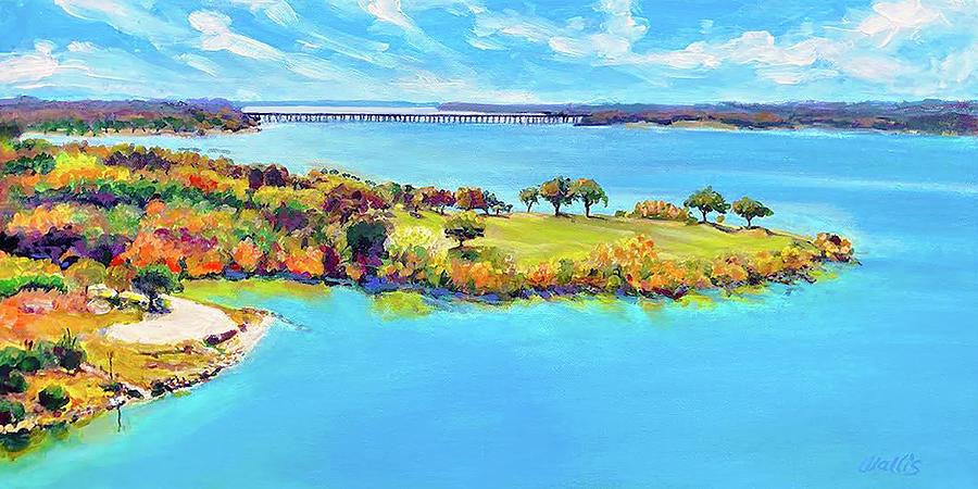 Lake Waco View Painting