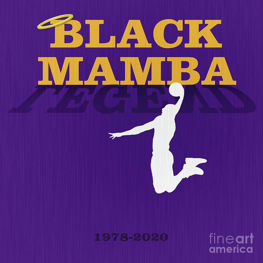 lakers kobe bryant black mamba forever legend 7 nishanth gopinathan