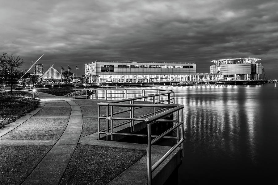 Lakeshore Park BW by James Meyer