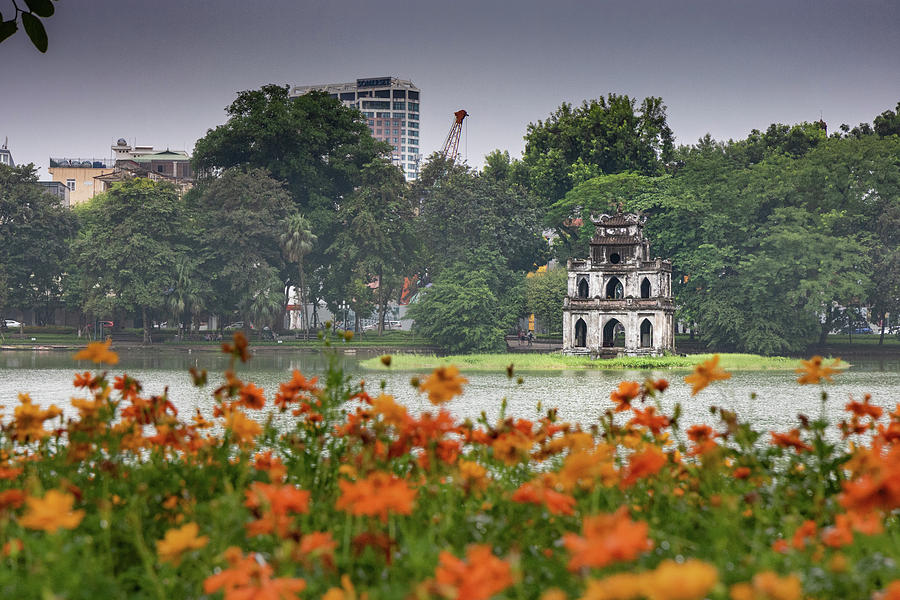 Lakeside in Hanoi by Rich Isaacman