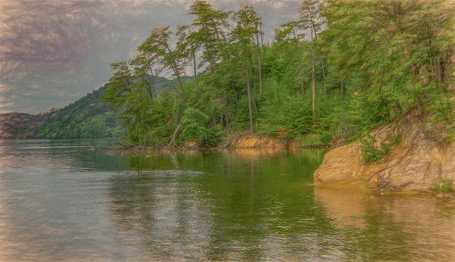 Lakeside in Tennessee by Marcy Wielfaert