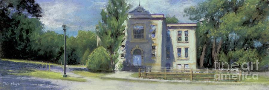 Lakeside Ohio Schoolhouse Painting