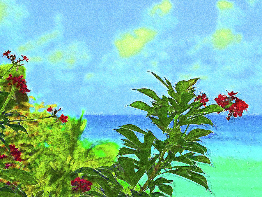 Laluna Blossoms by Island Hoppers Art