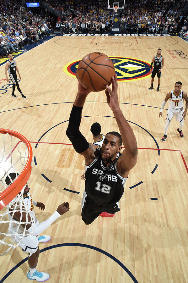 Lamarcus Aldridge Photograph by Garrett Ellwood