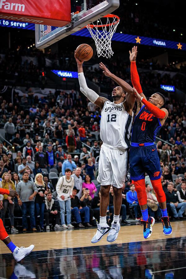 Lamarcus Aldridge Photograph by Zach Beeker