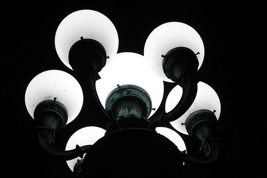 Lamps Photograph - Lamps by Callen Harty