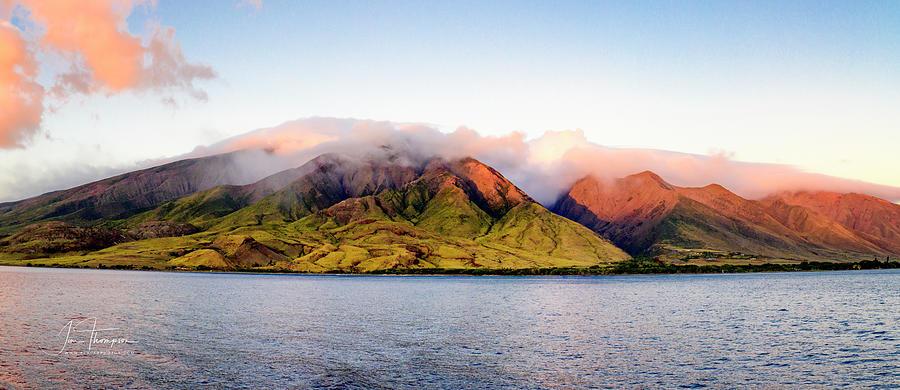 Hawaii Photograph - Lanai Sunset by Jim Thompson