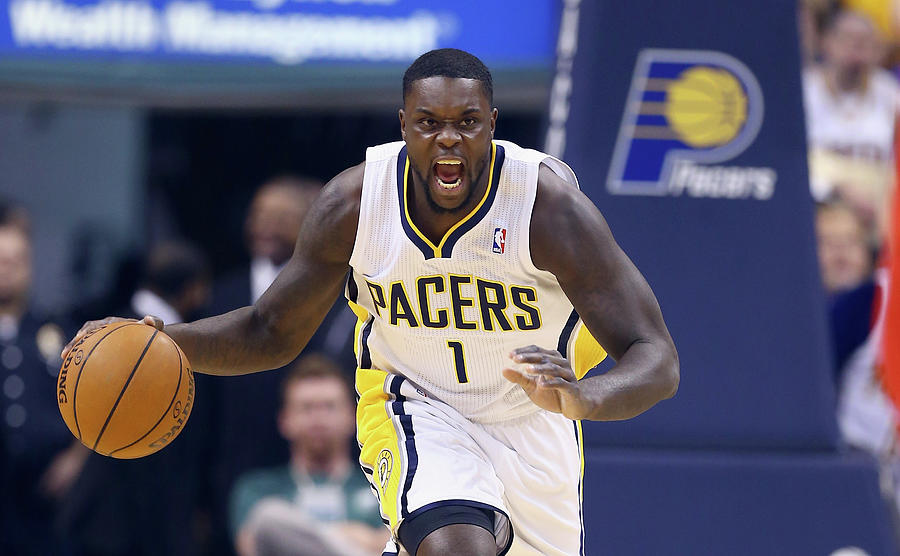 Lance Stephenson Photograph by Andy Lyons