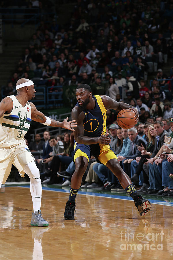 Lance Stephenson Photograph by Gary Dineen