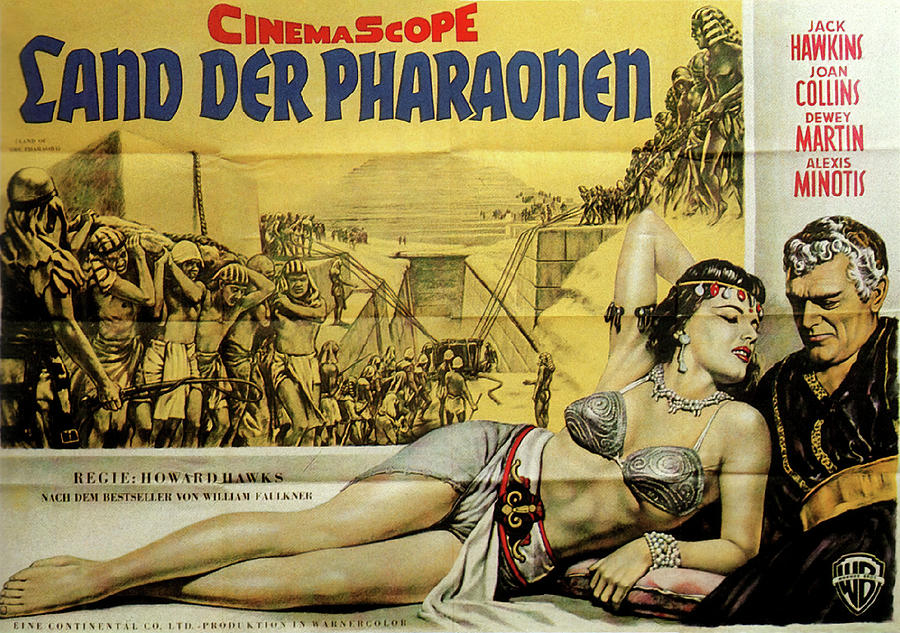land Of The Pharaohs, With Joan Collins, 1955 Mixed Media