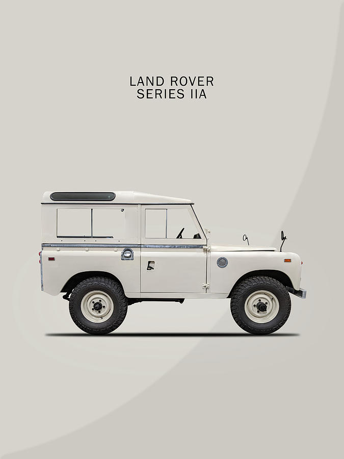 Land Rover Photograph - Land Rover Series II by Mark Rogan