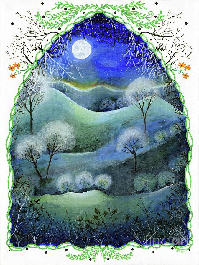 Landscape Moonlight Fantasy by Lise Winne
