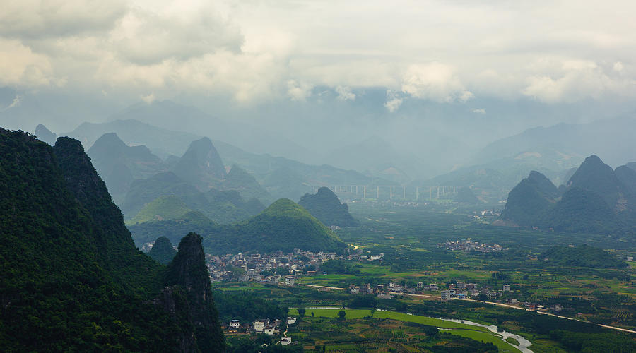 landscape of guilin in China in day Photograph by Kiszon Pascal