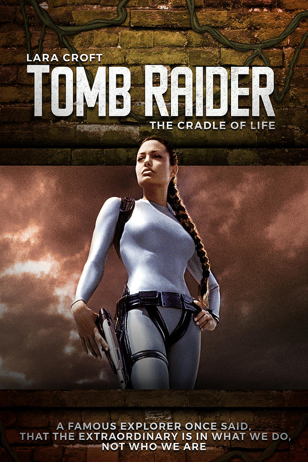 Lara Croft Tomb Raider The Cradle Of Life 2003 Digital Art By Geek N Rock