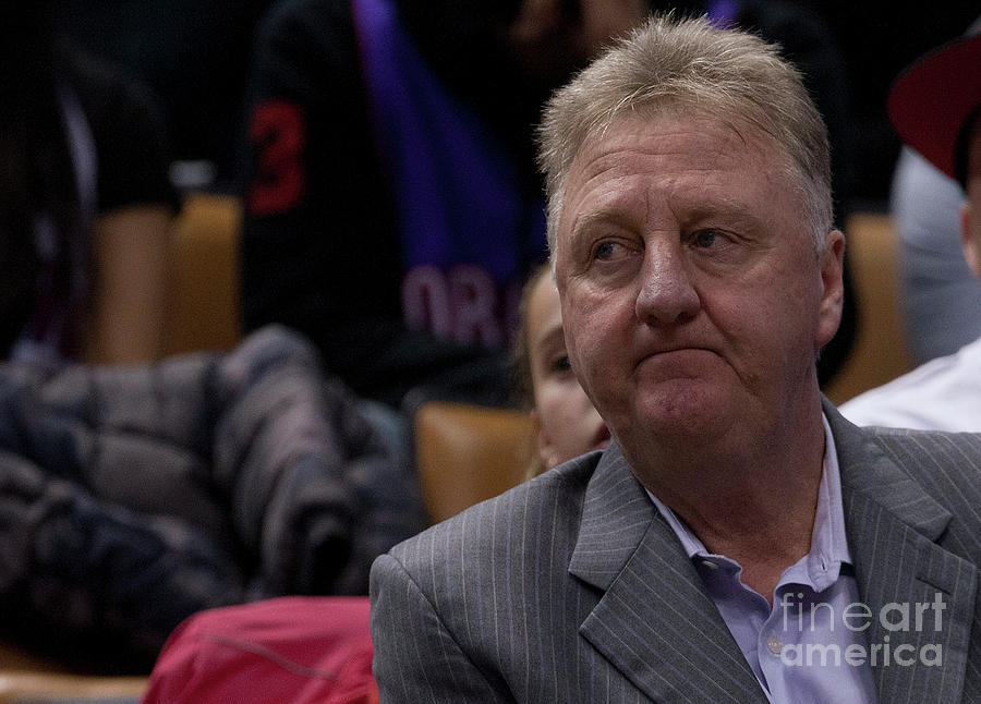 Larry Bird Photograph by Dave Sandford