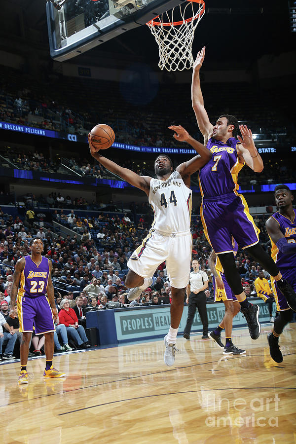 Larry Nance and Solomon Hill Photograph by Layne Murdoch
