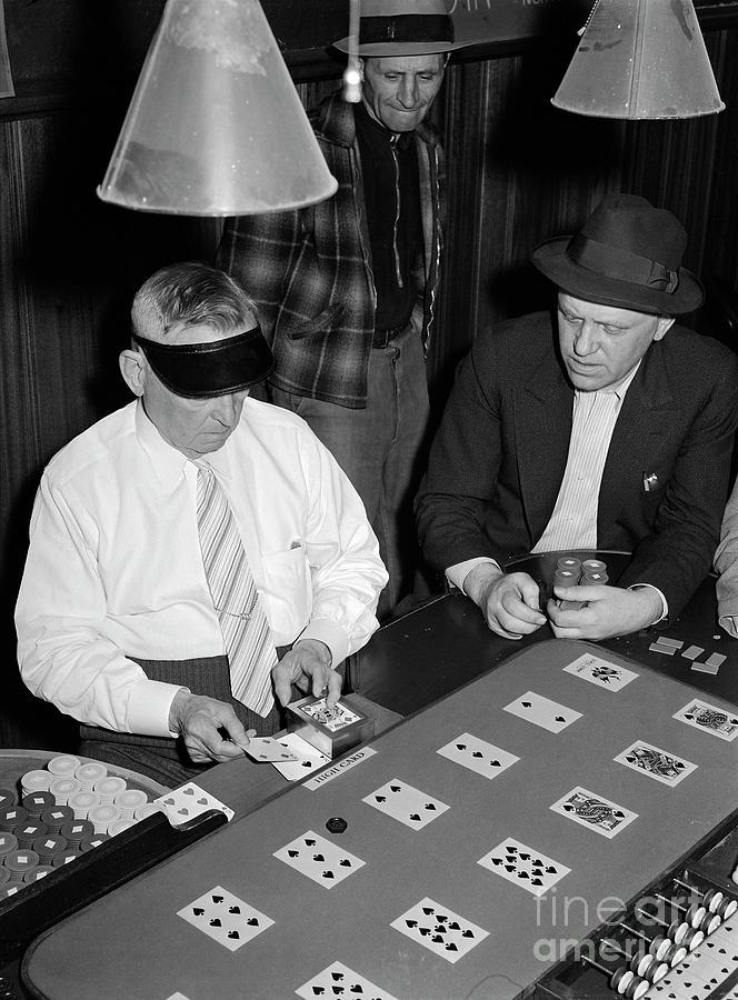 Las Vegas Faro Table, 1940 by Arthur Rothstein