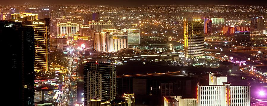 Las Vegas Strip Photograph - Las Vegas Strip by Az Jackson