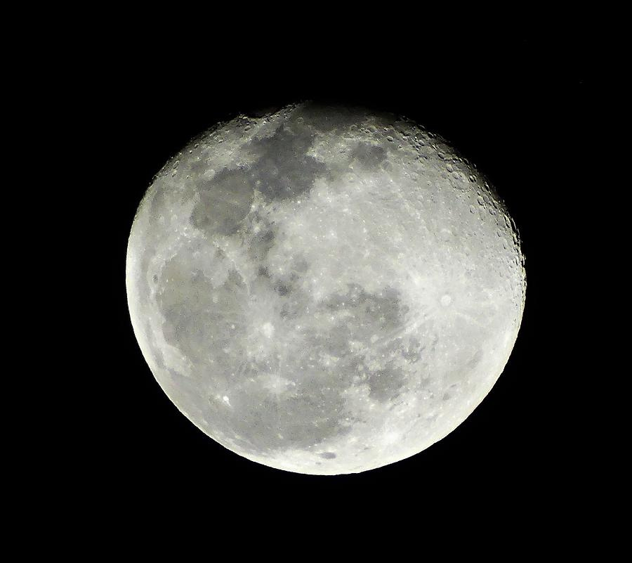 Moon Photograph - Lasso The Moon Please by Lizette Tolentino